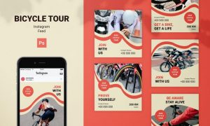 Bicycle Tour Instagram Feed FW2NQLT