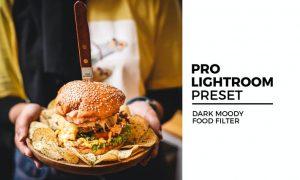 Dark Moody Food Filter
