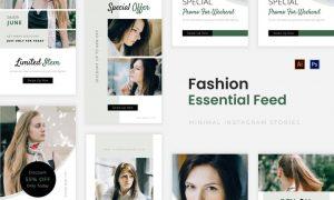 Essentials Fashion Instagram Story N949KBA