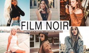 Film Noir Mobile & Desktop Lightroom Presets