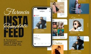 Florencia Instagram Feed Template D5UFMYH