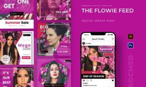 Flowie Feed Instagram Post HW7R738