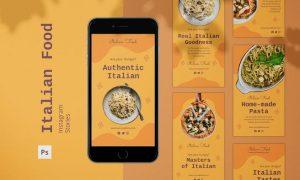 Italian Food Instagram Stories MUY2L4B