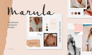 Marula - Moodboard Instagram Designs WDZ5TCS