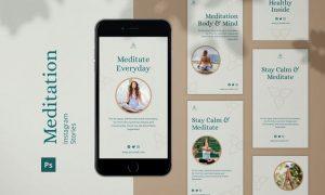 Meditation Instagram Stories 99AE7CE