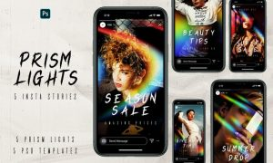 Prism Lights Instagram Stories KUJZKY2