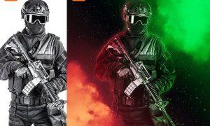 Rangers Photoshop Action 2VFNCBS