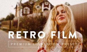 RETRO FILM Premium Lightroom Preset 5059631