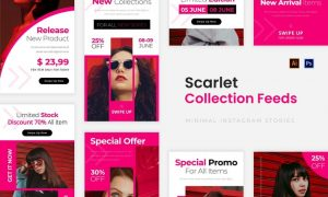 Scarlet Collections Instagram Story VU8WQAV