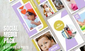 Templates for Instagram - Stories & Posts - Vol.4 M9MWMJR