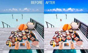 Tropical beach lightroom preset 4653890
