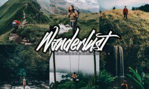 Wanderlust Photoshop Action FLKSBJ8