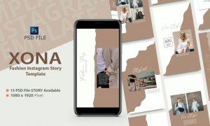 XONA - Fashion Instagram Story Template