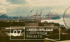 7 Landscape Film Lightroom Presets + Mobile