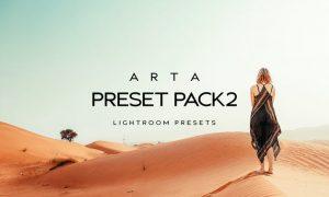 Arta Preset Pack 2 For Mobile and Desktop Lightroom
