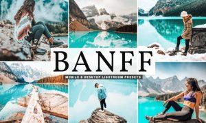 Banff Mobile & Desktop Lightroom Presets
