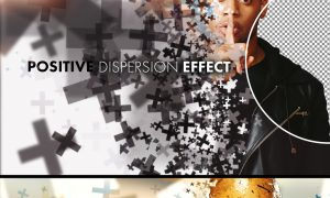 Positive Dispersion Effect Mockup 364786156
