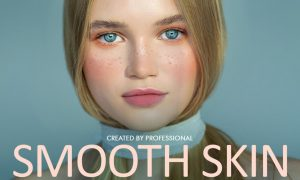 Smooth Skin Photoshop Actions 4723022
