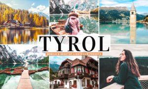 Tyrol Mobile & Desktop Lightroom Presets
