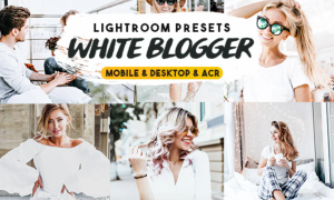 White Blogger Lightroom Presets 26975621
