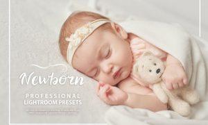 50 Newborn Lightroom Presets