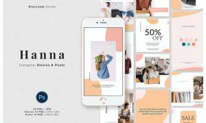 Hanna Instagram Posts & Stories 27EKHEV