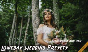 Loweday Wedding Presets - LR and ACR 4775119