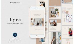 LYRA Instagram Posts & Stories B3UAYY2