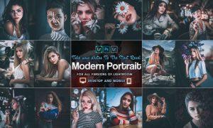 Modern Portrait Presets Mobile and Desktop Lightro