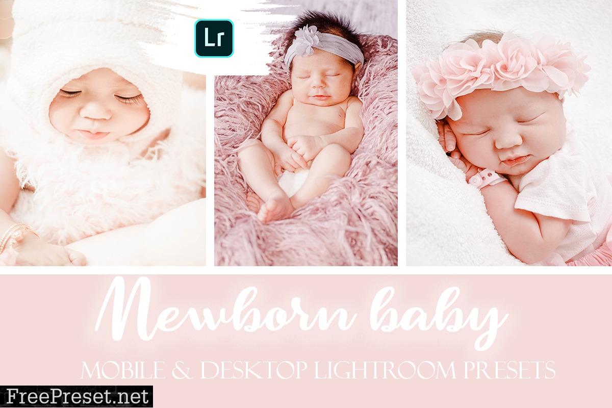 Newborn Baby Mobile & Desktop Lightroom Presets