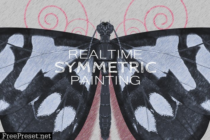 Realtime Symmetry Painting AYLHCE4