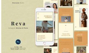 REVA Instagram Posts & Stories V5596KQ