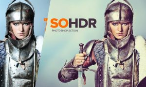SoHDR Photoshop Action FSSULP