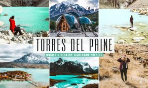Torres del Paine Mobile & Desktop Lightroom Preset