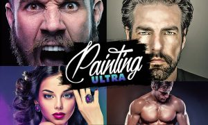 Ultra Painting Photoshop Action VABR8NK