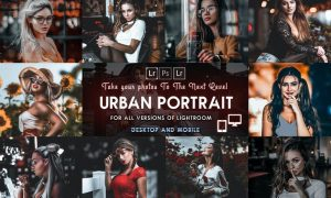 Urban Portrait Presets Mobile & Desktop lightroom