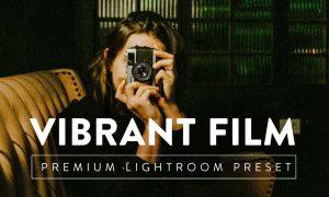VIBRANT FILM Pro Lightroom Preset 5267391