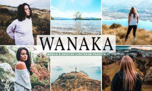 Wanaka Mobile & Desktop Lightroom Presets