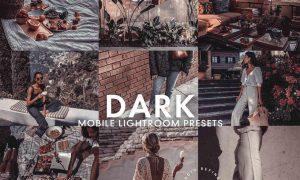 5 DARK MOBILE LIGHTROOM PRESETS 5277258