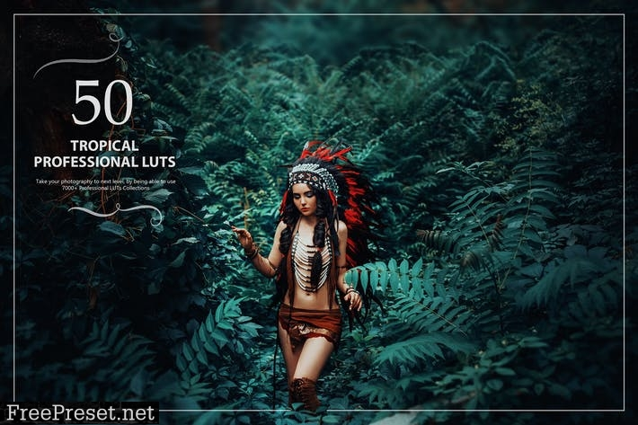 50 Tropical LUTs (Look Up Tables)