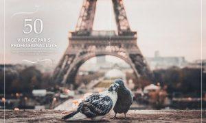 50 Vintage Paris LUTs (Look Up Tables)