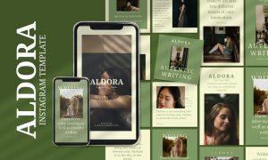 Aldora - Instagram Post and Stories PKPKMWU
