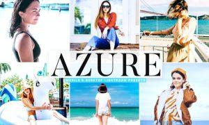 Azure Mobile & Desktop Lightroom Presets