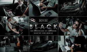Black New York Presets (Mobile & Desktop)