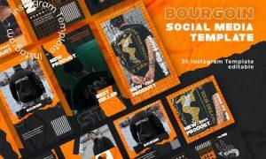 Bourgoin - Instagram Post and Stories WDSUXDJ