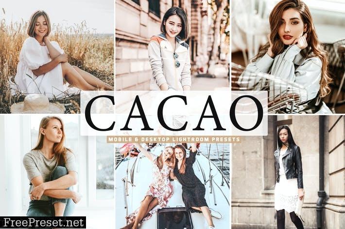 Cacao Mobile & Desktop Lightroom Presets