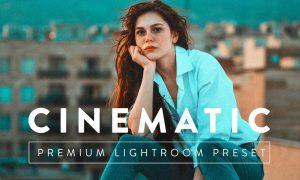 CINEMATIC Premium Lightroom Preset 5059653
