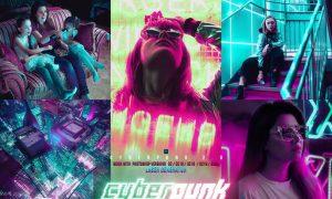 Cyber Punk City Photoshop 7HYZLF4