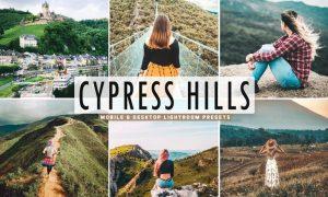 Cypress Hills Mobile & Desktop Lightroom Presets