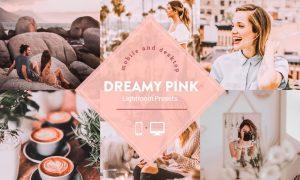 Dreamy Pink Lightroom Presets 4741878